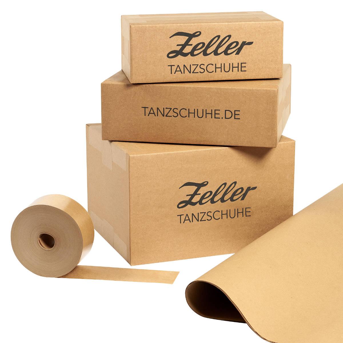 Unsere Verpackungen bestehen aus 100% recyceltem Papier
